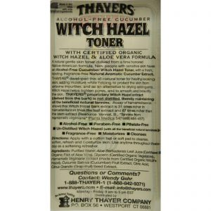 Thayers Witch Hazel With Aloe Vera Cucumber – 12 Fl Oz