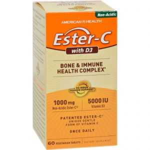 American Health Ester-c With D3 Bone And Immune Health Complex – 60 Tablets