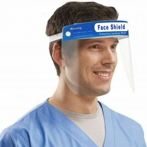 Safety Full Face Shield Reusable Anti Fog Protection Cover Face Mask Anti Splash